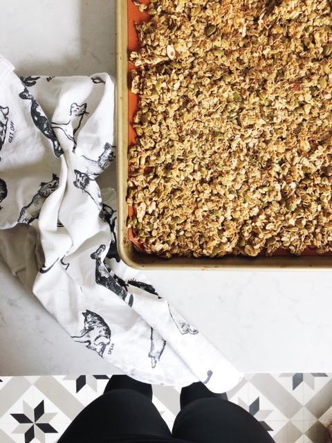 TGA_Homemade Granola Recipe