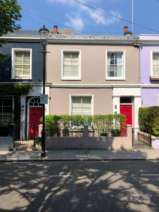 TGA_Colorful Houses Notting Hill London